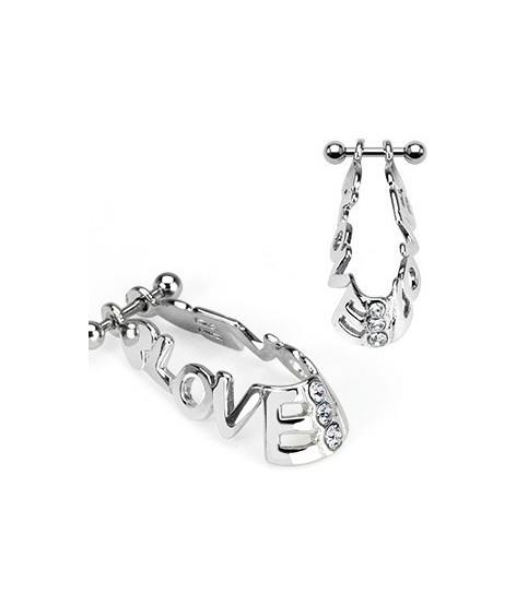 Flot cartilage piercing - LOVE
