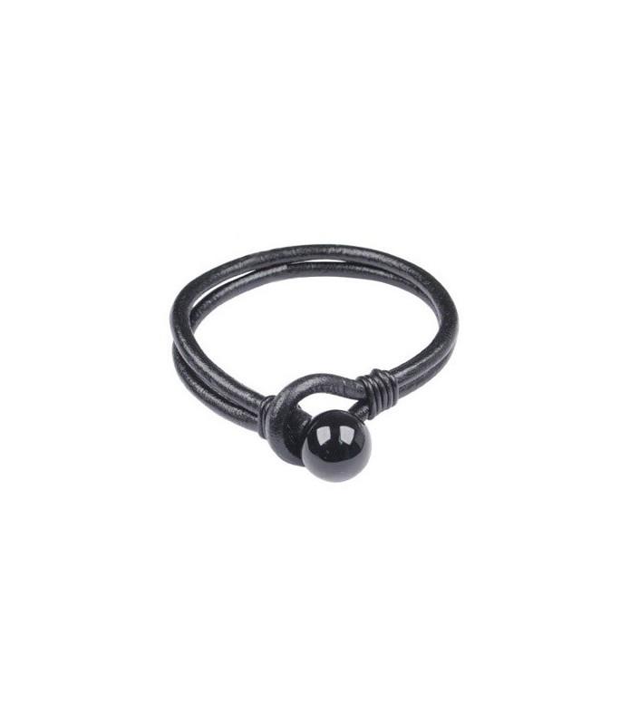 Rigtigt smart og enkelt  læderarmbånd