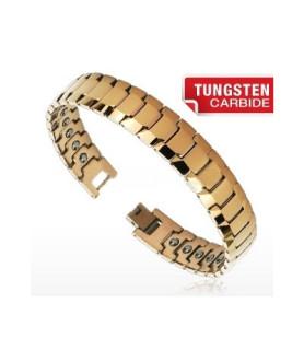 "Tungsten carbide armbånd ""Copperplate""."
