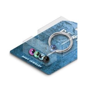 -Pakke med 1 CBR piercing og 5 titaniumkugler