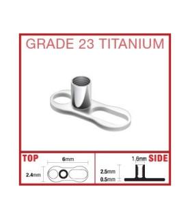 Dermal anchor - G23 titanium