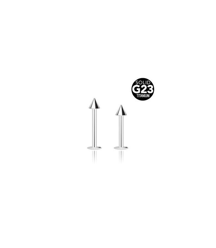 Lækker labret i G23 ren titanium