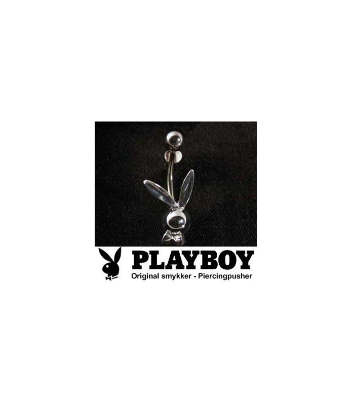 Playboy™ Navlepiercing i simpelt Bunny design