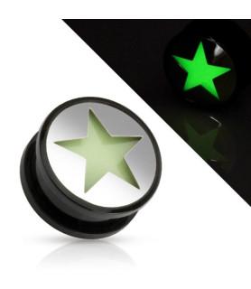 Fed selvlysende Plug med STAR udskæring