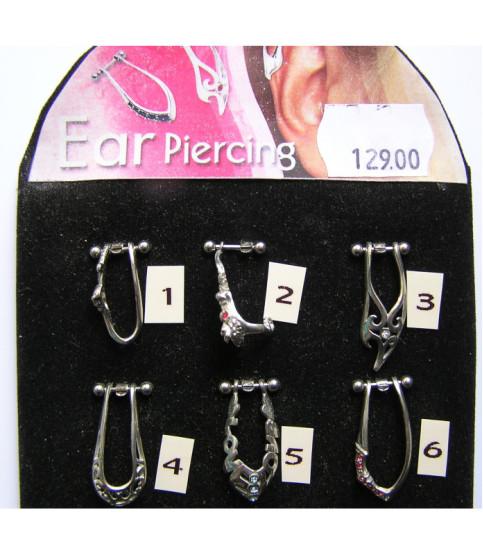 Flot designede Cartilage piercingsmykker til øret