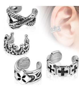 Ear-cuffs i fire flotte designs.