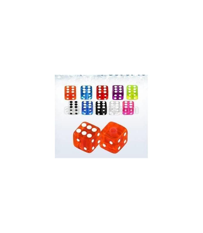 Terninger i mange farver - G14 - 1,6 mm.