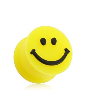 Glad Smiley Plug til øret i seks størrelser