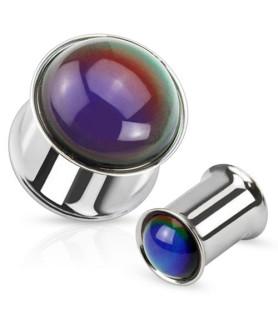 Sjov Mood Stone plug - Skifter  selv farve!