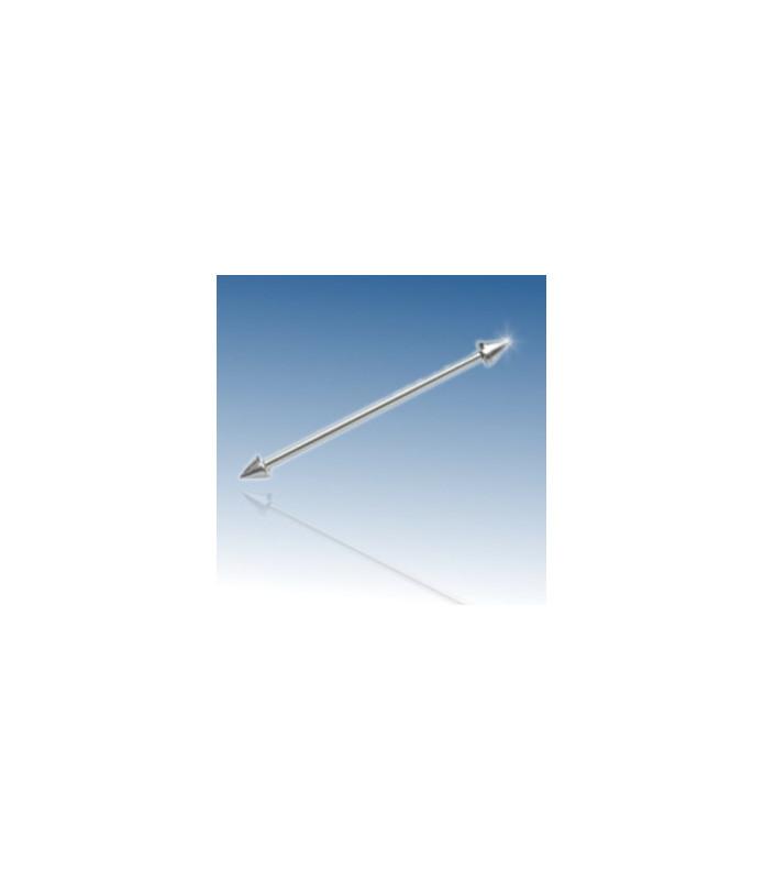 Industrial barbel med cones- gauge 14