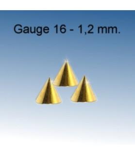 Cones til din piercing G16 - 1,2 mm.