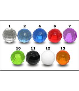 Løse Disco Balls til dit Piercingsmykke