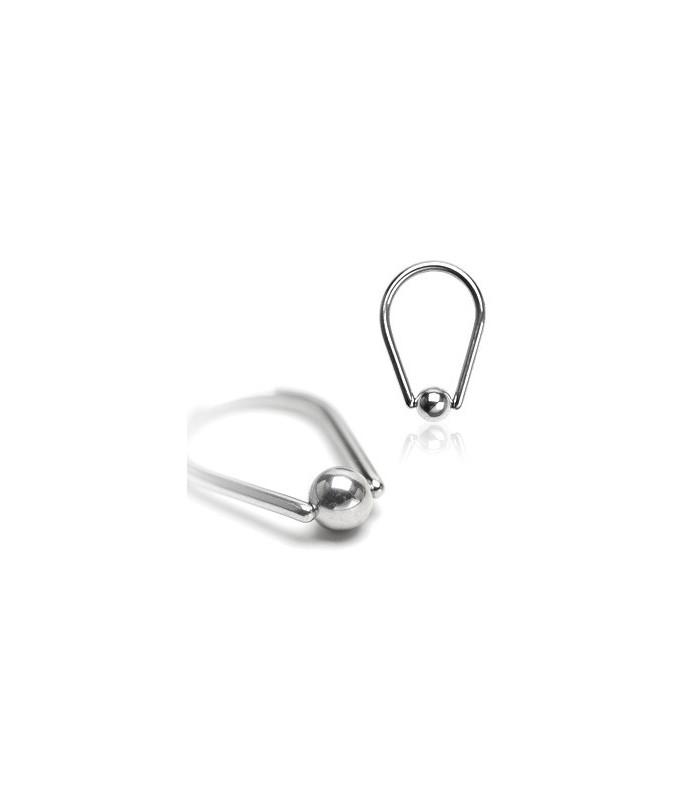 Dråbeformet captive bead ring - mange størrelser