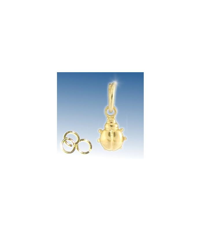 Neglepiercingsmykke - Mariehøne