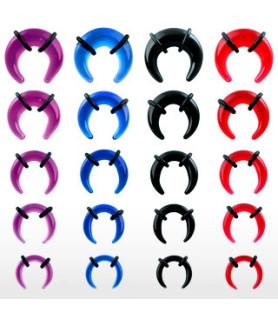 Cresent taper akryl med O-ringe