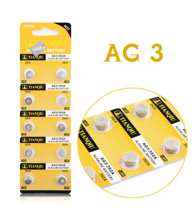 2 stk. Knapcelle batteri LR736 - Alkaline 1.5V