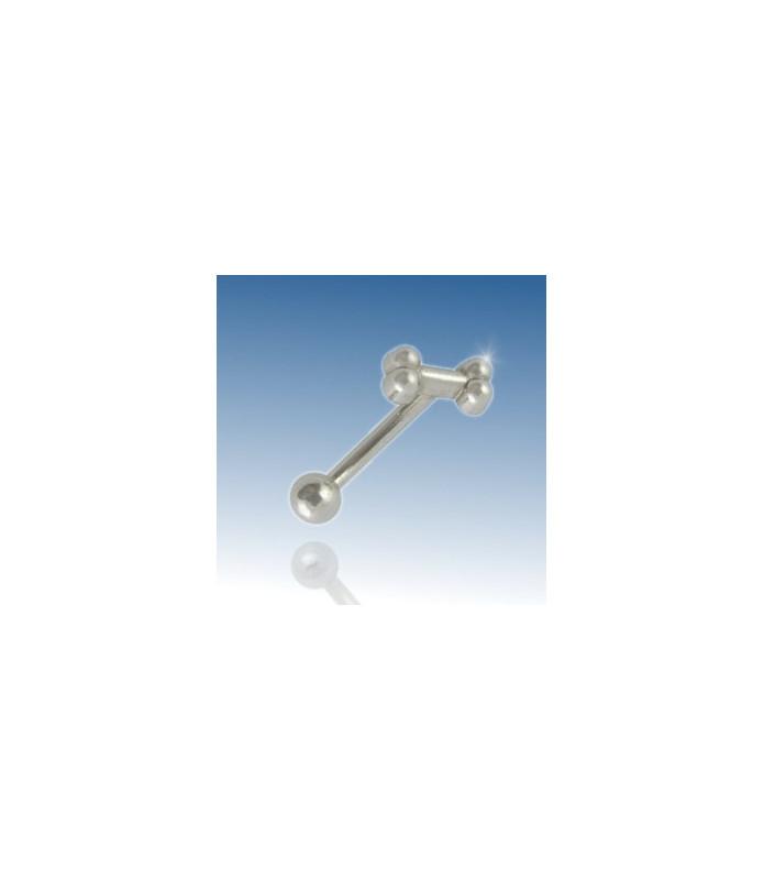 Bone - øjenbrynspiercing 316L