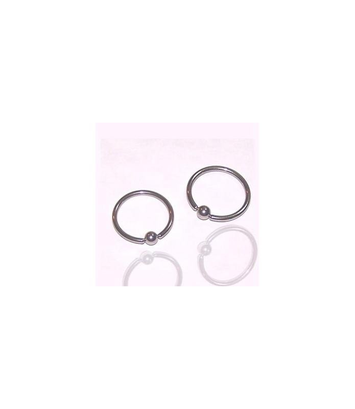 Closure ring  i kirurgisk stål G16