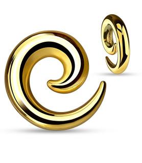 -Guld Spiral Tapers til din stretch