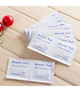 Renseservietter alcohol swaps 10 eller 100 stk.