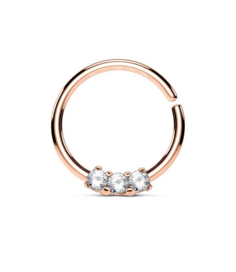 Rose Gold Septum - Helix ring