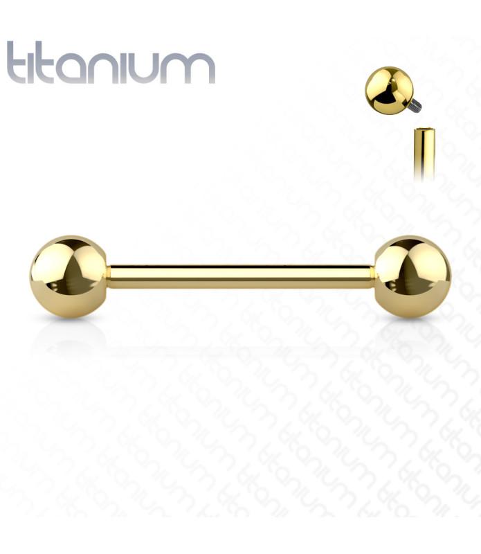 Ren Titanium til Tungepiercingen - Internt gevind