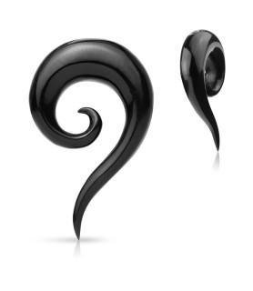 Organic Spiral Buffalo horn Taper