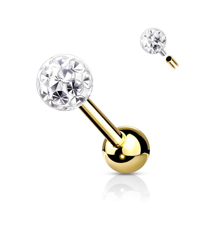 Multi Juvel på flot Stærk PVD Guld til dine Ører