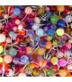 Supertilbud.! 10 flotte navlepiercinger - assorterede