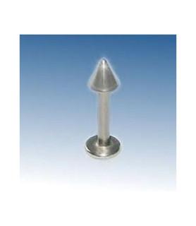 Labrets med stål-cones med 10 mm. Stav Gauge 14