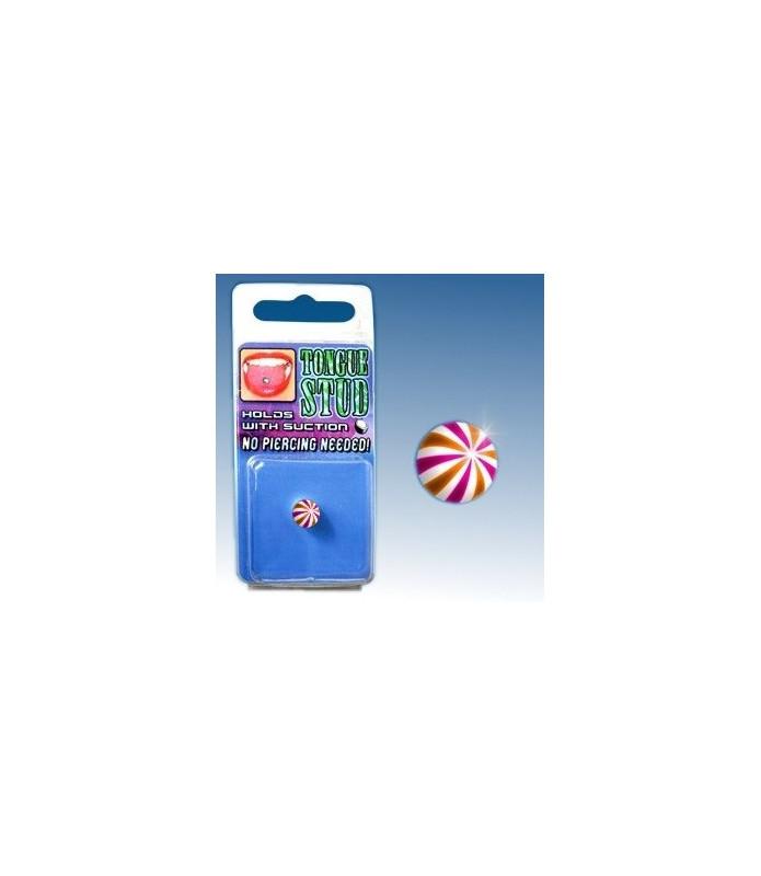 Fake tungepiercing beach ball des. 9