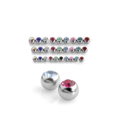 Piercing kugler i flere størrelser og farver G 14