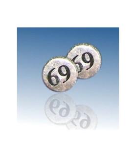 Fake plug piercing - 69 - til øret
