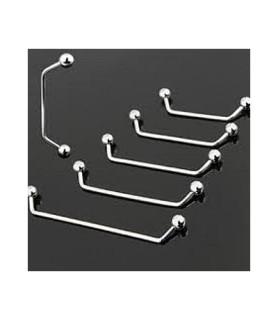 Surfacepiercing stable i kirurgisk stål