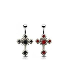 """Navle piercing """"Cross of The Cursed"""""""