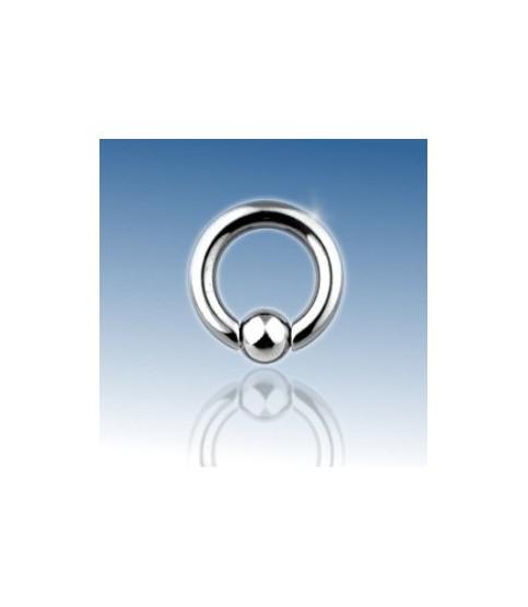 Ekstrem piercing Closure ball ring G4 - 5mm.