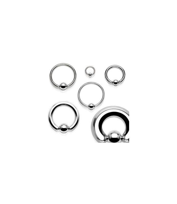 Ekstrem piercing Closure ball ring G8 - 3mm.